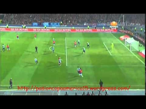 Chile 1-0 Uruguay (Televisa Deportes)