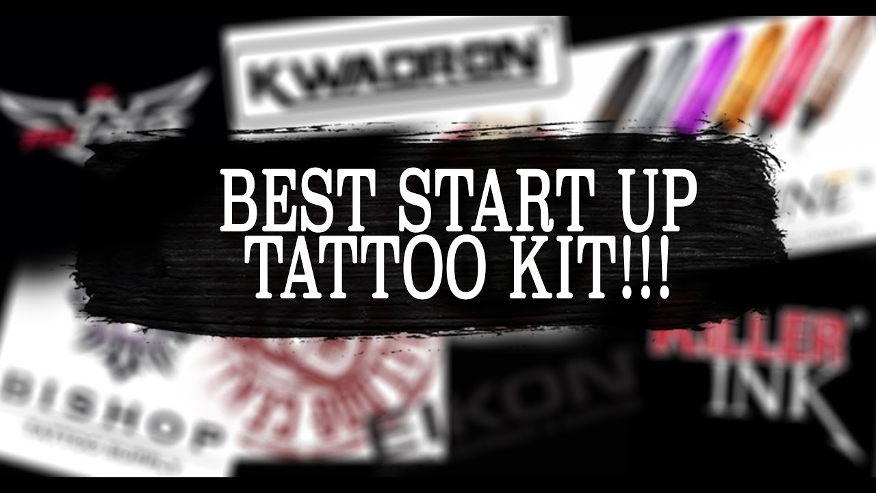 THE BEST TATTOO KIT FOR BEGINNERS!!