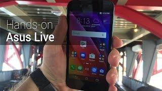 Hands-on: Asus Live   Tudocelular.com