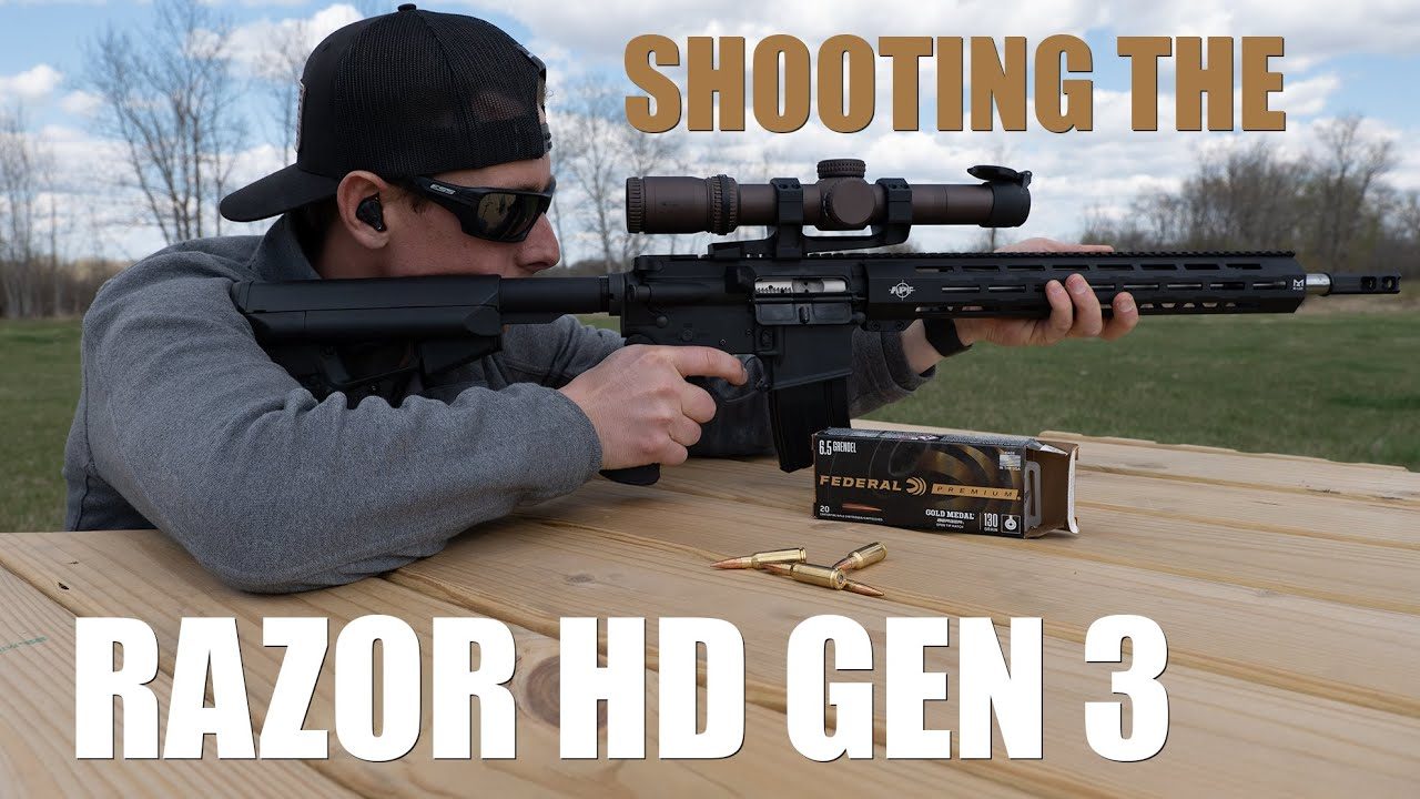 Shooting the Vortex Razor HD Gen 3 Scope | Gould Brothers