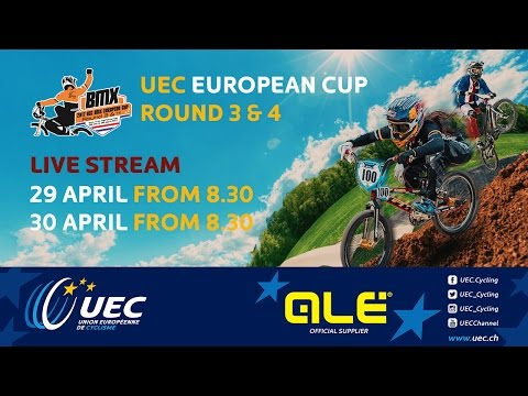 2017 UEC BMX EUROPEAN CUP Rounds 3 & 4 – Erp (Netherlands), Sunday - morning part