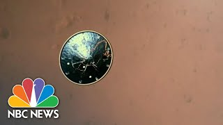Watch: NASA Releases First Ever Video Of Perseverance Rover Landing On Mars | NBC News NOW