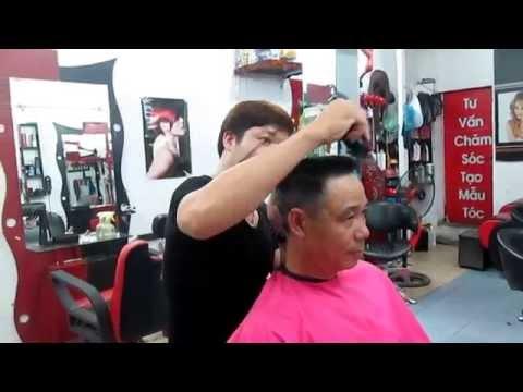 kỹ thuật cắt đầu đinh tại Hair salon Hùng Thắng 166 vĩnh hưng, hoàng mai, hà nội