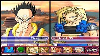 SÓ AS FUSÕES MIL GRAU!! Dragon Ball Z Budokai Tenkaichi AF