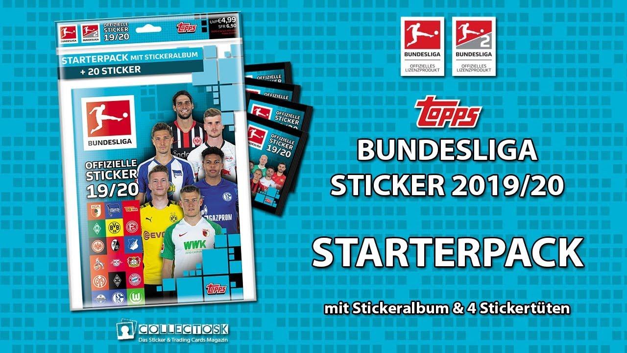 Topps Bundesliga Sammelsticker 2019//20-1 Album
