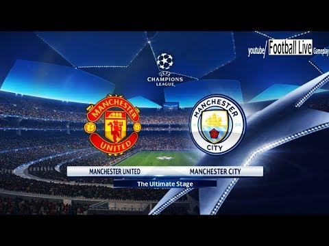 PES 2018 | Manchester United vs Manchester City | UEFA Champions League (UCL) | Gameplay PC