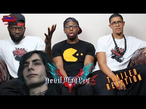 Devil May Cry 5 - V Trailer Reaction