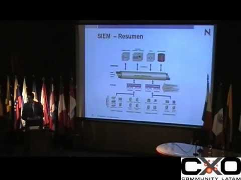 SIEM: Security information and Event Management (Mariano Morano) 2008 #cxoiddigital