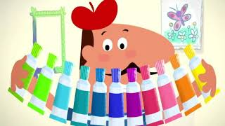 Pierre The Painter - Baby TV - Educational show for kids - ChuChuTV