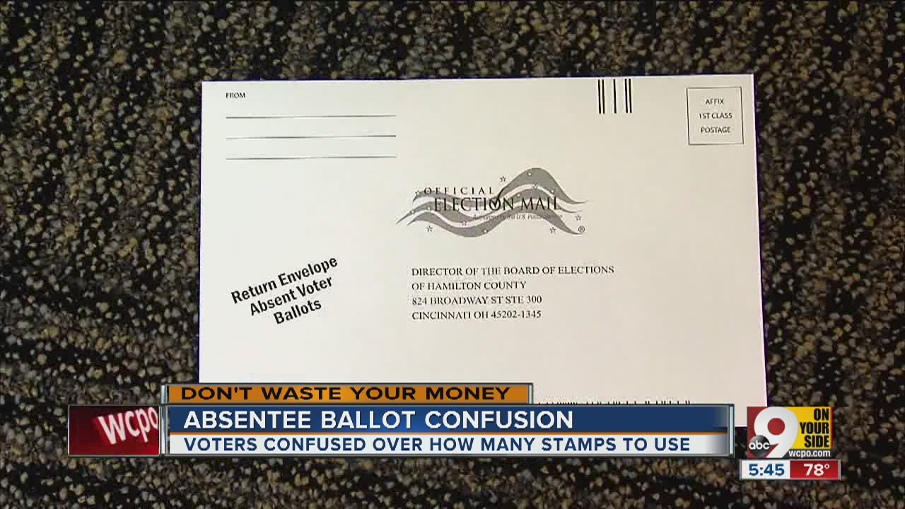 How Many Stamps Should You Put On Your Absentee Ballot