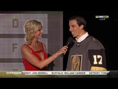 Fleury gets drafted by the Las Vegas Golden Knights | NHL Expansion Draft 2017 | (HD)