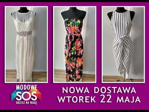 Nowa Dostawa Wtorek 22 Maja   Odzież używana i outlet na wagę Szczecin   Modowe SOS