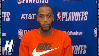 Khris Middleton Postgame Interview - Game 2 | Heat vs Bucks | September 2, 2020 NBA Playoffs