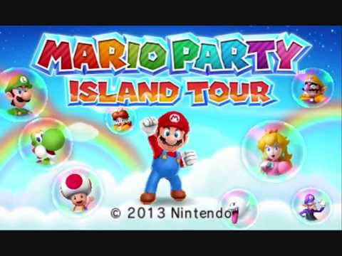 All Mario Party Title Screens Music - (1-10, Advance, DS, Island Tour)