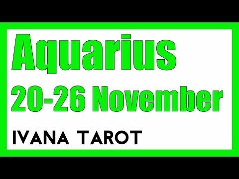 💘 MAKE IT HAPPEN Aquarius Weekly Reading 20 - 26 November 2017 - Ivana Tarot