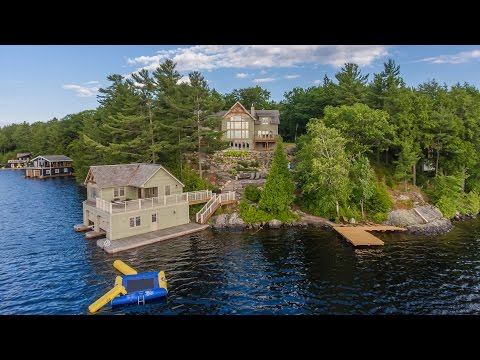 Acton Island Family Getaway On Lake Muskoka Video Tour