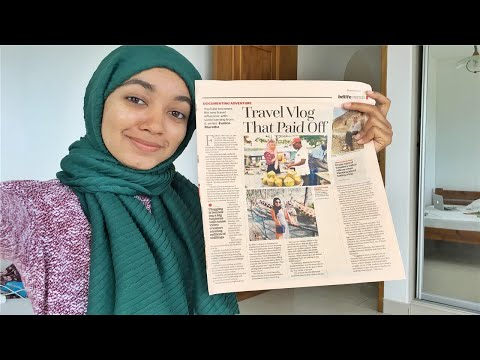 I'M IN THE KENYAN NEWSPAPER!