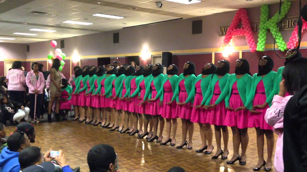 Wmu alpha kappa alpha sorority inc probate youtube buycottarizona Choice Image