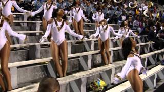 "SU Dolls ""Just Right For Me"" - 2015 Southern vs PVAMU"