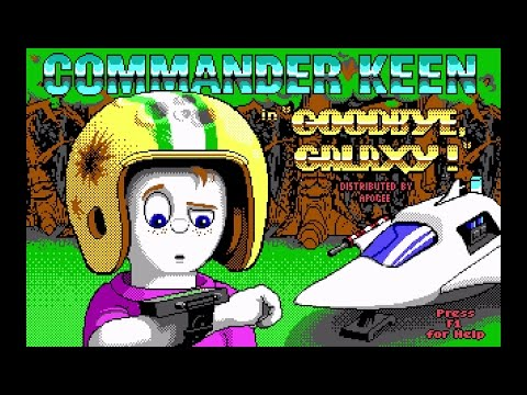 Longplay: Commander Keen 4 - Secret of the Oracle (1991) [MS
