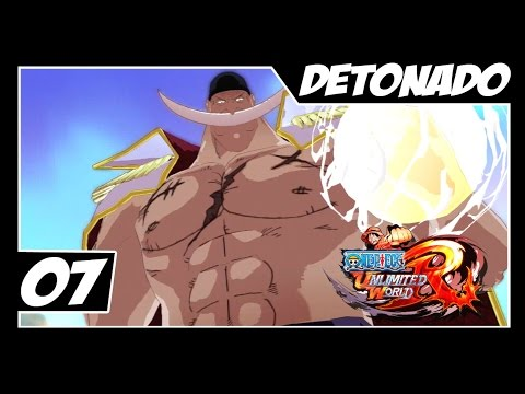 One Piece Unlimited World Red - Detonado Parte #7 - Hody, Red e Barba Branca!!!