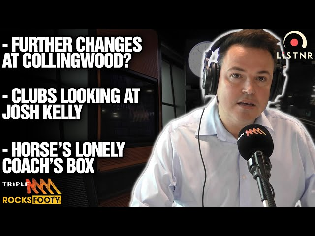 Tom Browne's News   Could There Be Further Changes At Collingwood?   Triple M Footy