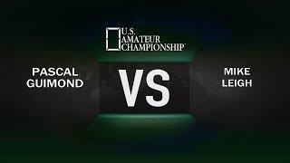 2017 APA US Amateur Championship Pascal Guimond VS. Mike Leigh