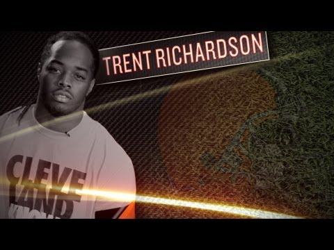 Trent Richardson Interview - Browns Rookie RB