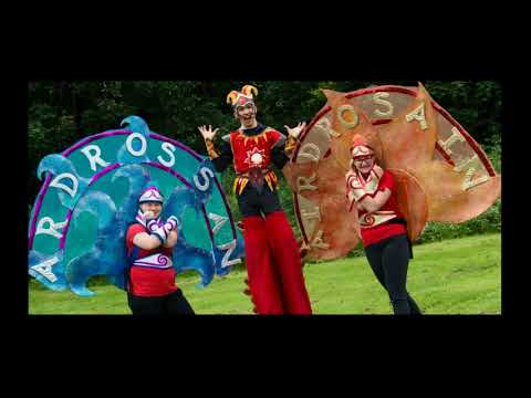 Ardrossan Castle Carnival Parade 2017  Independent State of Happiness Overview Video
