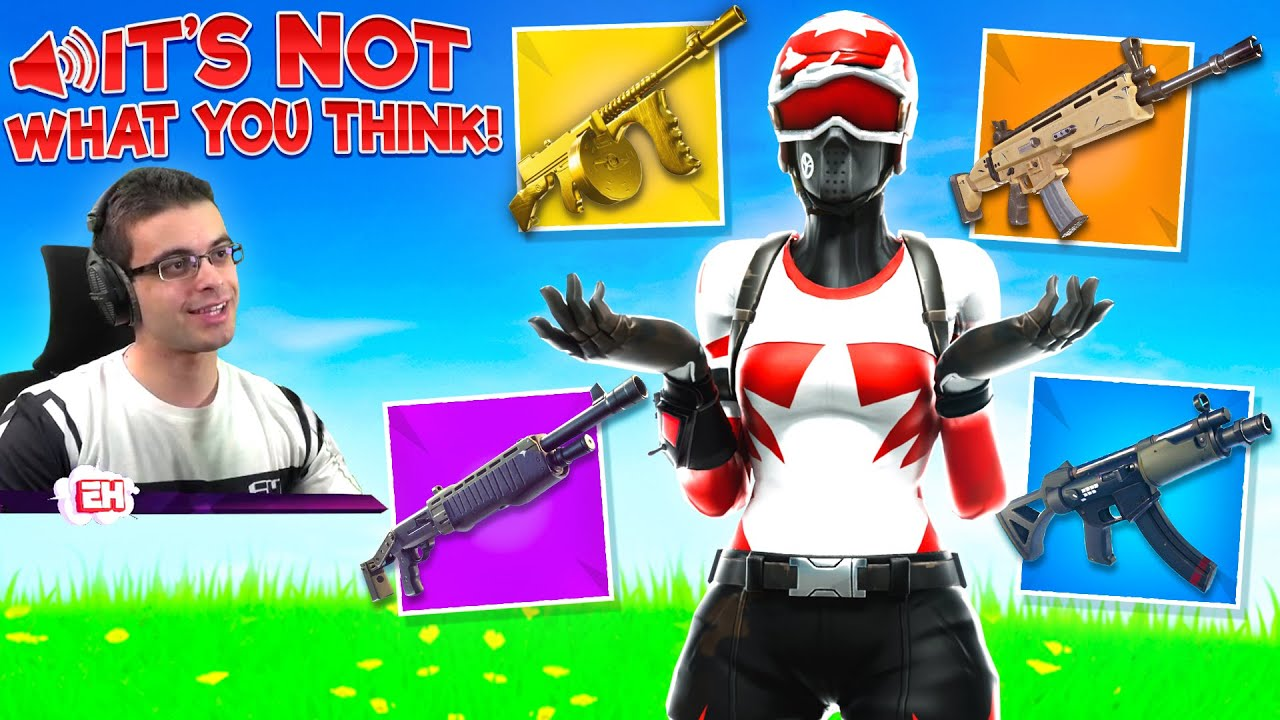 What's the BEST Weapon in Fortnite? thumbnail
