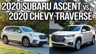Which One: 2020 Subaru Ascent Vs 2020 Chevy Traverse On Everyman Driver