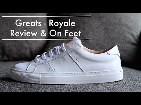 High-Fashion Sneakers For Men AND Women! Greats Brand Royale Review + On Feet