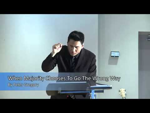 When Majority Choses to go the Wrong Way by Peter Gregory