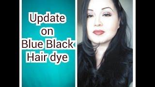 UPDATE Blue black hair / meet my dogs Thumbnail