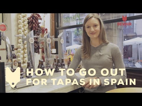 How to Go Out For Tapas in Spain | Devour Madrid
