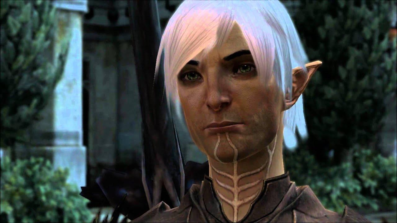 Dragon Age 2 Meeting Fenris Youtube