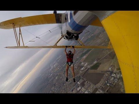 Biplane Jump At Skydive Perris In April 2018