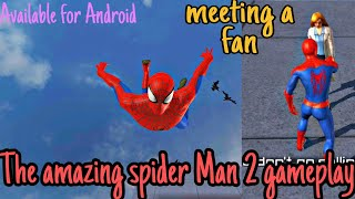The amazing spider Man 2 Android gameplay|| Action packed offline game story|| Gameloft #Marvel