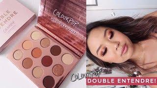 COLOURPOP DOUBLE ENTENDRE PALETTE • 3 Looks, Review + Swatches