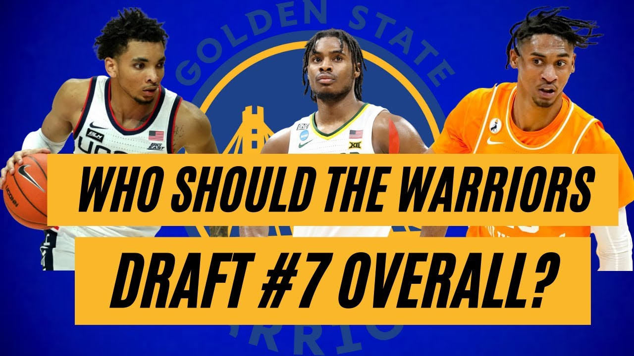 Warriors go upside, draft Jonathan Kuminga with 7th pick