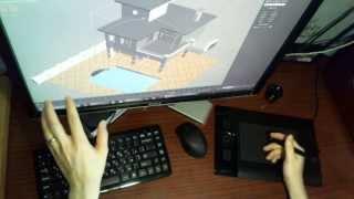 Графический планшет для 3Ds Max и Cinema 4d(Планшет для 3D графики и не только. Выбор планшета для 3Ds Max и Cinema 4d Как пользоваться графическим планшетом..., 2013-10-30T14:49:16.000Z)