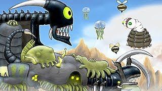【小熙解说】外星虫女王 作为一个虫虫女王要产出各种外星虫虫攻击敌人占领土地!