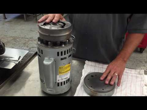 How to recognize wear on a gast vacuum pump