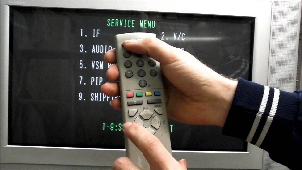 Jvc Av32x25eus Triple Scart Tv Youtube