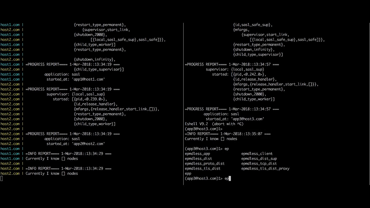 Running distributed Erlang & Elixir applications on Docker   Erlang
