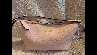 What's in my pink Guess Bag