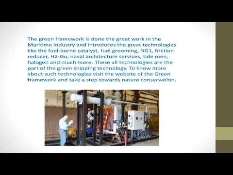 Technology that boosts marine fuel economy