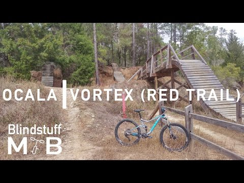 Mountain Biking the Vortex at Ocala, FL