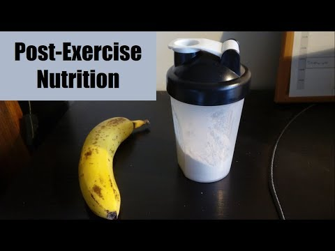 Post-Exercise Nutrition for Recovery | Optimizing Athletic Performance