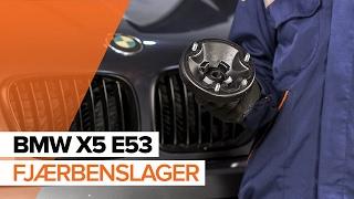 Hvordan skifte Fjærbenslager på BMW X5 (E53) - videoguide